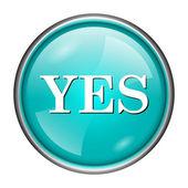 Yes icon — Stock Photo