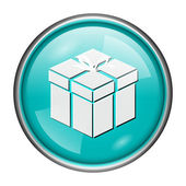 Gift icon — Stock Photo