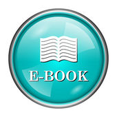 E-book icon — Stockfoto