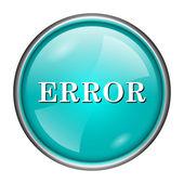 Hata simgesi — Stok fotoğraf