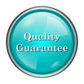 Quality guarantee icon — Stock Photo