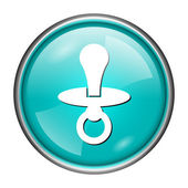 Pacifier icon — ストック写真