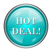 Hot deal icon — Stock Photo