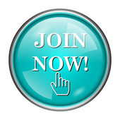 Join now icon — Stock Photo