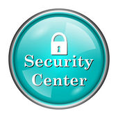 Security center icon — Stock fotografie
