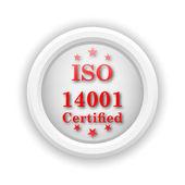 ISO14001 icon — Stock Photo