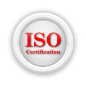 ISO certification icon — Stock Photo