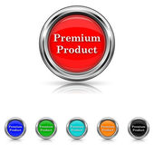 Premium product icon - six colours set — Stock Vector