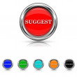 Stock Vector: Suggest icon - six colours set