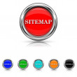 Stock Vector: Sitemap icon - six colours set