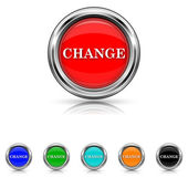 Change icon - six colours set — Stock Vector