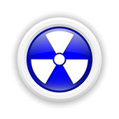 Radiation icon — Stock Photo