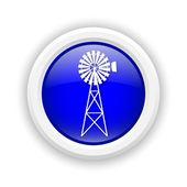 ícone clássico do moinho de vento — Fotografia Stock