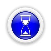 Icono de reloj de arena — Foto de Stock