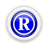 Registered mark icon — Stock Photo