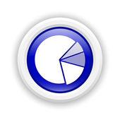 Icono gráfico pastel — Foto de Stock