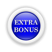 Ícone de bônus extra — Fotografia Stock