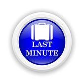 Icono de último minuto — Foto de Stock