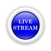 Live stream icon — Stock Photo