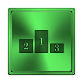 Podium icon — Stock Photo