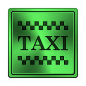 Taxi icon — Stock Photo