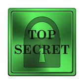 Top secret icon — Stock Photo
