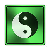 Ying yang icon — Stock Photo
