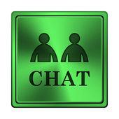 Sohbet simgesi — Stok fotoğraf