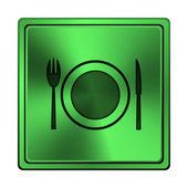 餐厅图标 — 图库照片