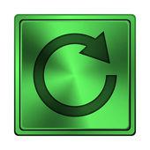 重新加载一个箭头图标 — 图库照片