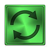 重新加载两个箭头图标 — 图库照片