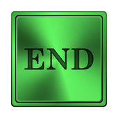 End icon — Stock Photo