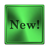 Novo ícone — Foto Stock