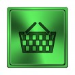 Shopping basket icon — Stock Photo #41340099