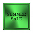 Summer sale icon — Stock Photo #41340681