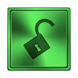 Open lock icon — Stock Photo #41341221