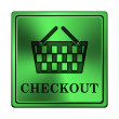 Stock Photo: Checkout icon