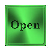 Open icon — Foto de Stock