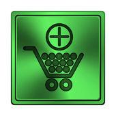 Add to shopping cart icon — Foto de Stock