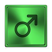 男性标志图标 — 图库照片