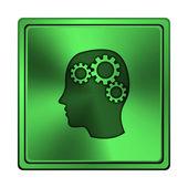 Brain icon — Stock Photo