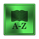A 到 z 的书本图标 — 图库照片