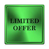 Icono de oferta limitada — Foto de Stock
