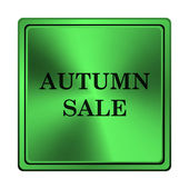秋季销售图标 — 图库照片