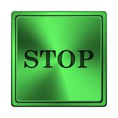 停止图标 — 图库照片