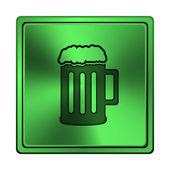 Beer icon — Stock Photo