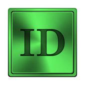 ícone de identificação — Foto Stock