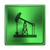 Oil pump icon — Stock Photo