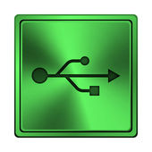 USB icon — Stock Photo