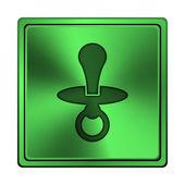 Pacifier icon — Stock Photo